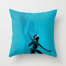 HEY! I'm Here! Throw Pillow