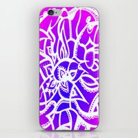 Pink & Purple Love iPhone & iPod Skin