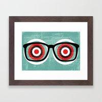 bullseyes Framed Art Print