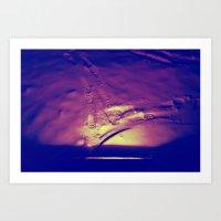 Lighting Steps Art Print