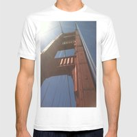 Sky High Mens Fitted Tee White SMALL