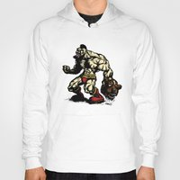 Bear Wrestler - Street Fighter Hoody