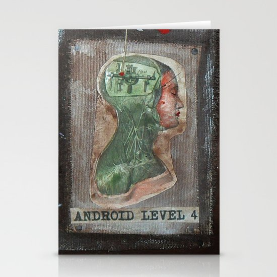 ANDROID LEVEL 4 Stationery Card