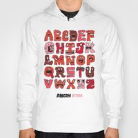 Angry Letters Hoody