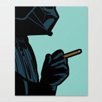 The secret life of heroes - DarkBreath Canvas Print