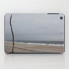 Cloudy Beach Day iPad Case
