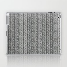 Grey Knit feeling Laptop & iPad Skin