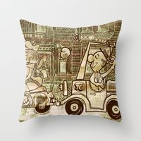 Nice Spot Throw Pillow