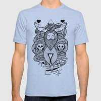 Amor Vincit Omnia Mens Fitted Tee Athletic Blue SMALL