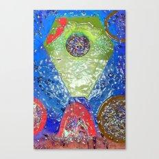 Rubrik Canvas Print