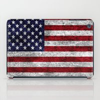 USA Grunge Flag iPad Case