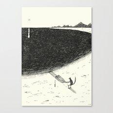 'Beach' Canvas Print