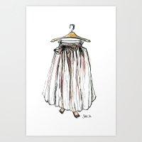 Hang-Ups Art Print