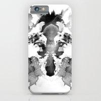 iPhone Cases featuring Rorschach by Robert Farkas