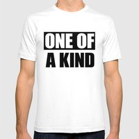 One Of A Kind Mens Fitted Tee White SMALL