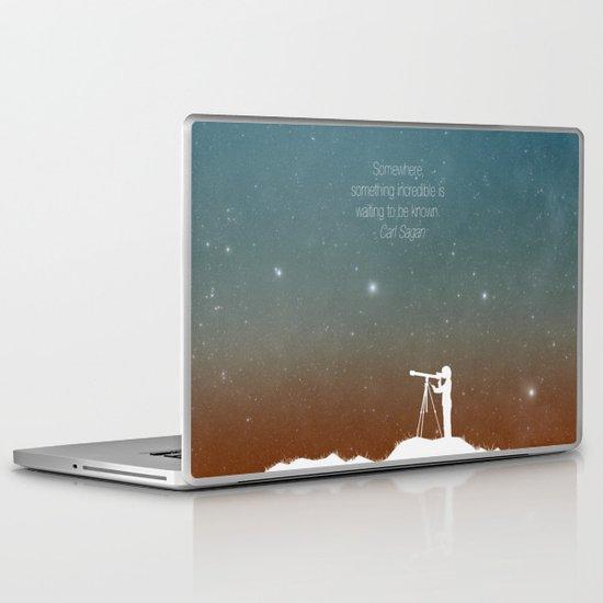 Through the Telescope Laptop & iPad Skin