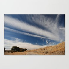 Rode to Blue Sky Canvas Print