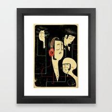 乐 Music Lovers / Vintage  Framed Art Print