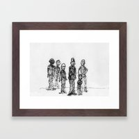 The Send-Off Framed Art Print