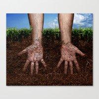 CRECIMIENTO / GROWTH Canvas Print