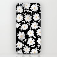 iPhone & iPod Skin featuring Daisies by Leah Reena Goren