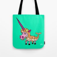 Unicorn in Narwhal Costume! Tote Bag