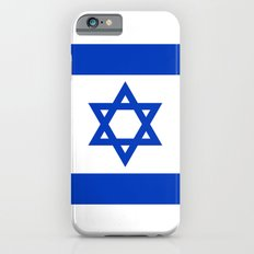 The National flag of the State of Israel iPhone 6 Slim Case