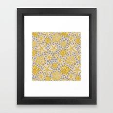 étoile de mer Framed Art Print