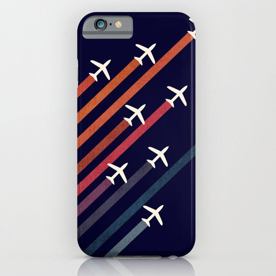 Aerial acrobat iPhone & iPod Case