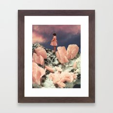 ROSE QUARTZ Framed Art Print