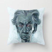 Sir Ian McKellen Throw Pillow