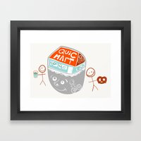 I Are Convenience Framed Art Print
