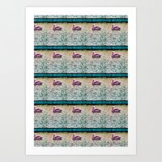 Pelican Pattern (a) Art Print