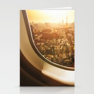 Aerial View Of Tokyo Stationery Cards