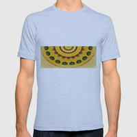 Golden Jewel With Emeral… Mens Fitted Tee Athletic Blue SMALL