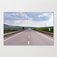 2007 - We Are On A Road … Canvas Print