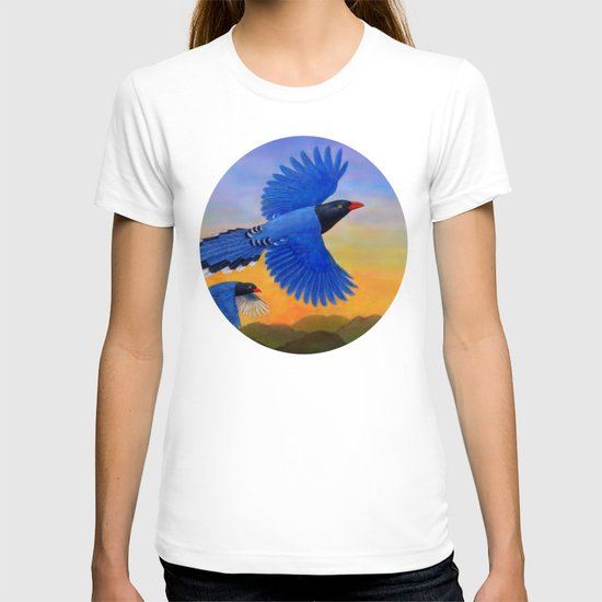 Taiwan Blue Magpie(1) T-shirt