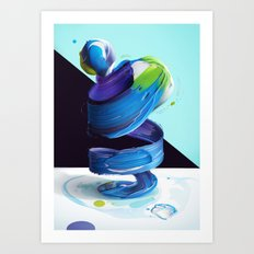 Atypical 5 Art Print