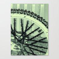 Winter Spoke Its Intenti… Canvas Print