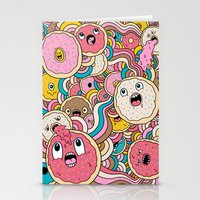 Donut Doodle Stationery Cards