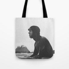 Surfing La Push, Washington USA Tote Bag