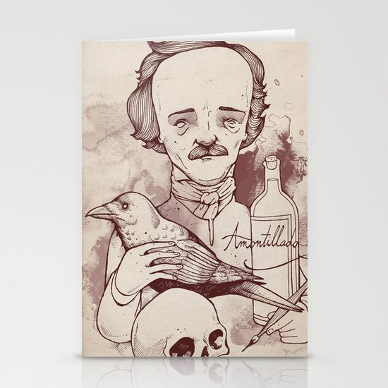 Poe Stationery Card