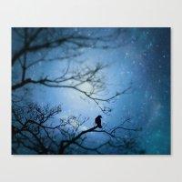 Silent Snow Canvas Print