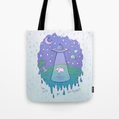 Too Cute For This Planet Tote Bag