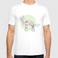 Chinese crested Mens Fitted Tee White SMALL
