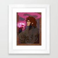 Art Nouveau Thief Framed Art Print