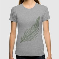 Fern  Womens Fitted Tee Athletic Grey SMALL