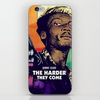 The Harder They Come iPhone & iPod Skin