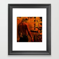 SUREXPOSITION Framed Art Print