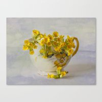 Cowslips Canvas Print